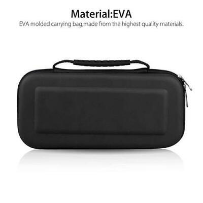 For Nintendo Switch Travel Case Storage Bag+Screen Protector+Cover Accessories 9