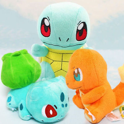 New Pokemon Collectible Plush Character Soft Toy Stuffed Doll Teddy Xmas Gift 4