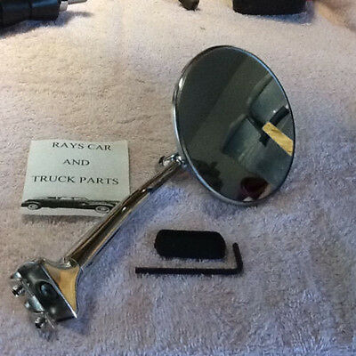 New Pair Of Right / Left Long Arm Vintage Style Side View Mirrors ! 7
