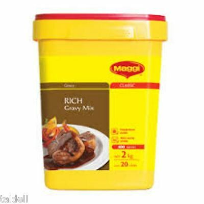 Rich Gravy Mix 2Kg By Maggi - Long Expiry May 2020 (Securely Packed) Free Post 2