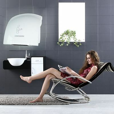 Asciugamani Automatico Elettrico Aria Calda Fotocellula Parete Per Hotel 1800W