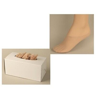 Disposable Foot Sox – Try on Socks –Slip on Sox – Peds 100% Nylon –2 Box 4