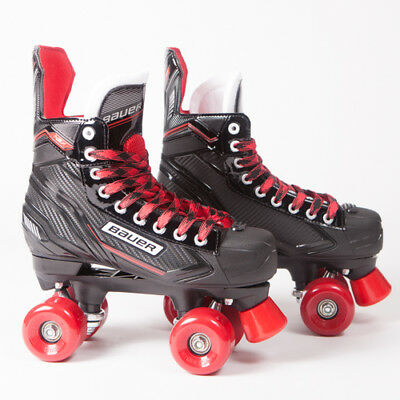 Bauer Quad Roller Skates - NSX - 2018 Model - Conversion - Sims Street Snakes 4