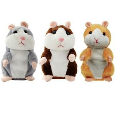 Talking Hamster Electronic Plush Toy Mouse Pet Sound Gift Children Plush Cute 2
