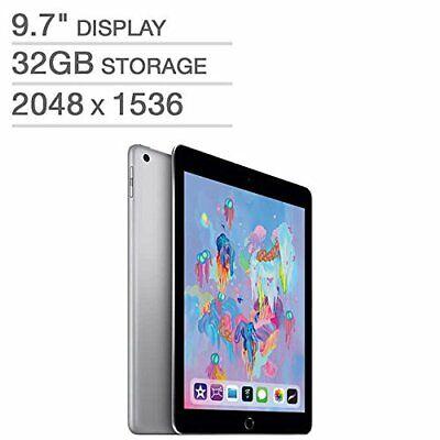 Apple iPad 6th Gen 32GB Space Gray Wi-Fi MR7F2LL/A 5