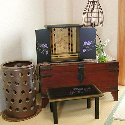 BUTSUDAN (BUDDHIST ALTAR) CABINET SHRINE,made in japan  F/S