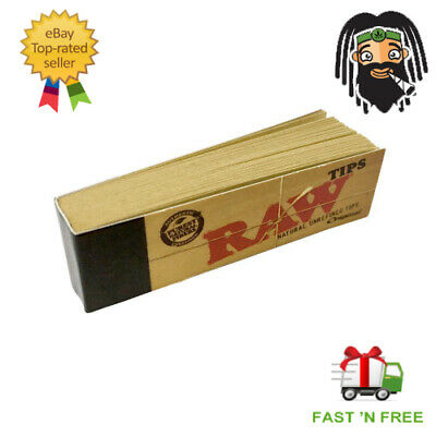 RAW CLASSIC Rolling Papers King Size Slim 110mm with Roach Filter Tips Rizla Kit 3