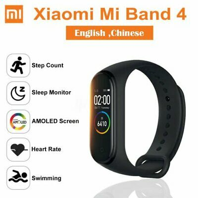 Xiaomi Mi band 4 Smartband Bluetooth 5.0 AMOLED Sport Smartwatch Fitness Tracker 3