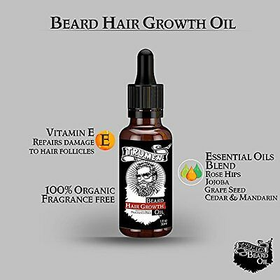 #1 Beard Growth Oil From TruMen for Thicker, Softer and Healthy Hair. 3