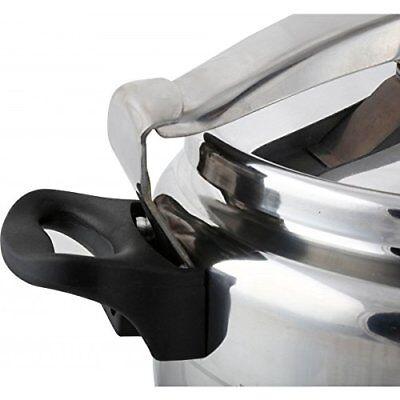 Olla de presión 7 Lts litros rápida para cocina gas o vitro cerámica elite 4