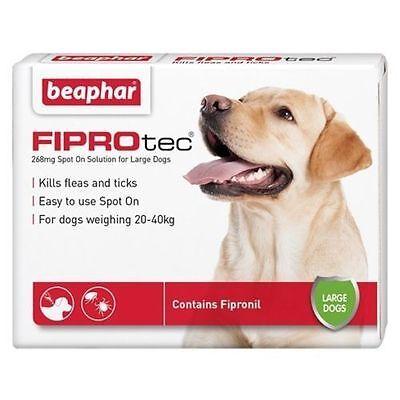 Beaphar Fiprotec Pulgas Spot-On para Pequeños Mediana Grande XL Dogs&cats 5