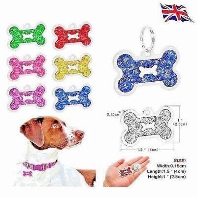 Bone Personalised IMPACT ENGRAVING Dog ID / Cat ID Name Tag Puppy Pet ID  UK 2