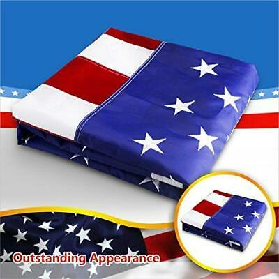 G128 – American Flag US USA | 8x12 ft | Embroidered Stars, Sewn Stripes 5