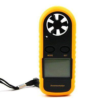 Mini Handheld Digital LCD Wind Speed Meter Thermometer Anemometer Velocity Gauge 3