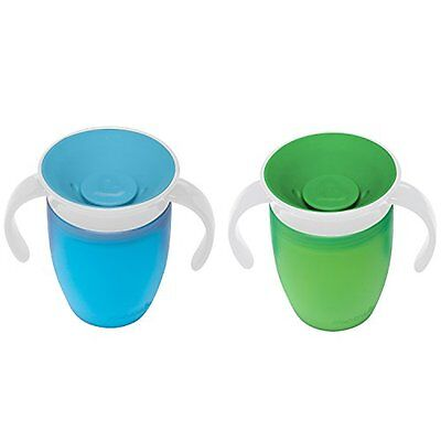 Munchkin Miracle Trainer Cup Decor 360 Sippy Cup Anti Spill Baby Cup New 2019 6