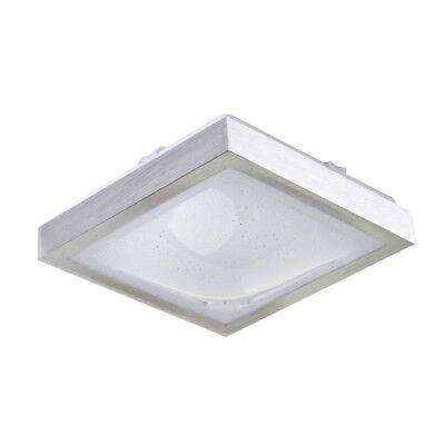 LED Deckenlampe Badezimmer Holzoptik eckig Raum Leuchten