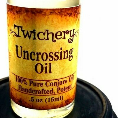 UNCROSSING OIL, Remove Hexes Negativity Hoodoo Palo Santo FREE SHIPPING!! Wicca 5
