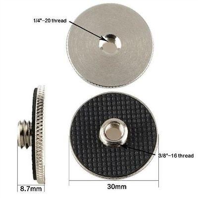 """US CAMVATE 1/4"""" Female to 3/8"""" Male Convert Screw Adapter Tripod Camera QR Plate"""