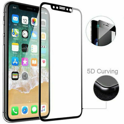 For iPhone 11 Pro Max XR X XS Max 8 7 Plus Tempered Glass Clear Screen Protector 2