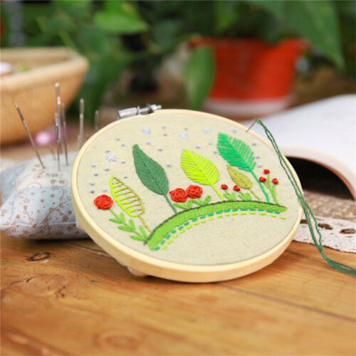 Wooden Embroidery Cross Stitch Tapestry Ring Hoop Frame 4