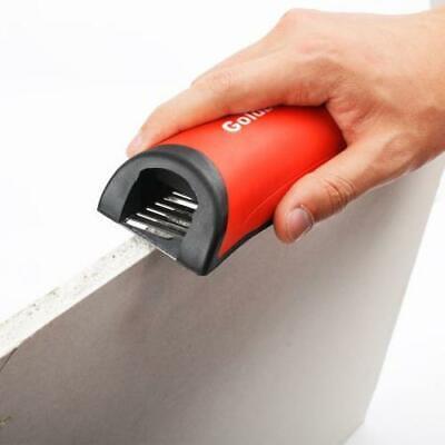 Goldblatt Drywall Rasp Stainless Steel Blade Rubber Handle Cuts Trim Smooth Edge 3