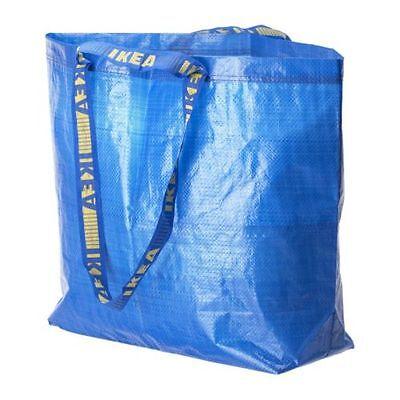 1 of 5FREE Shipping Ikea Blue Frakta 10 Medium Blue Shopping Laundry Storage Bag 10 Gallon New  sc 1 st  PicClick & IKEA BLUE FRAKTA 10 Medium Blue Shopping Laundry Storage Bag 10 ...
