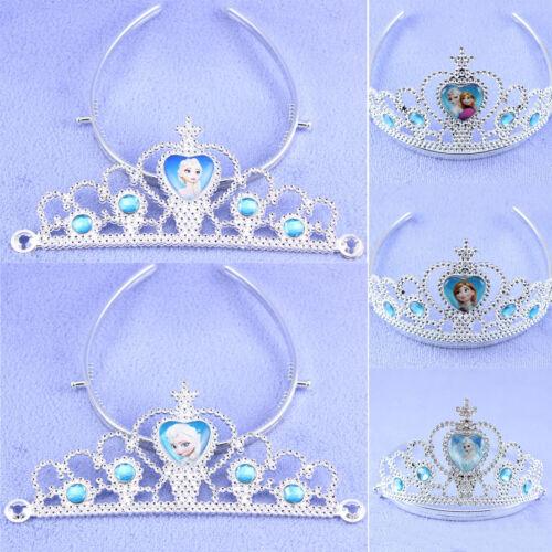 2 of 11 Girls Kids Cartoon Frozen Queen Crown Elsa Anna Princess Tiara Costume Accessory  sc 1 st  PicClick CA & GIRLS KIDS CARTOON Frozen Queen Crown Elsa Anna Princess Tiara ...