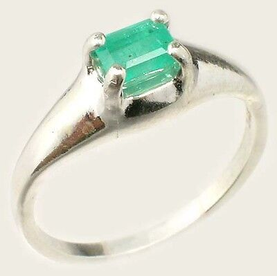 19thC Antique ½ct+ Siberian Emerald Medieval Chastity Honesty Intelligence Ring 2