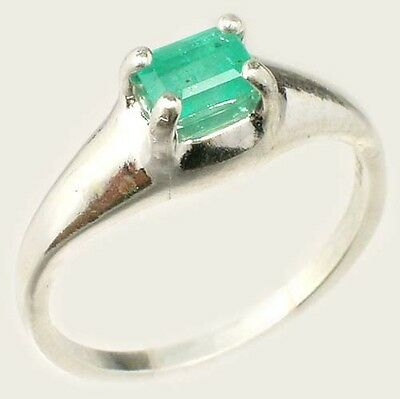 Emerald Ring ½ct+ Antique 19thC Siberian Medieval Chastity Honesty Intelligence 2