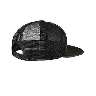 9f3cedb2453 ... 3 of 5 New Era 9FIFTY Mesh Snapback Hat Original Fit Trucker Cap Blank  Flat Brim 950 4