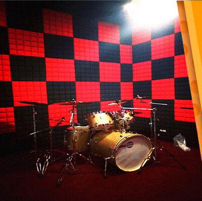 Acoustic Panels Tiles Sound Proof Absorption Flame Retardant PE Foam Room Decor 5