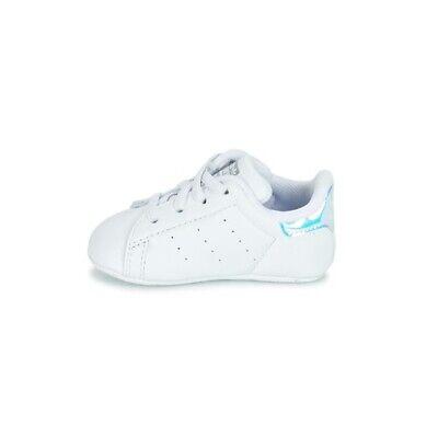Adidas Stan Smith Crib Bianco Scarpe Infant Bambina Culla