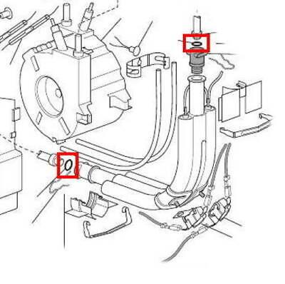 Delonghi Nespresso guarnizione doppia tubo caldaia Lattissima Magnifica Intensa 9