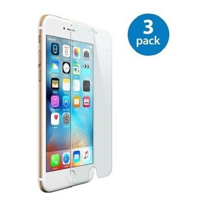 3-Pack iPhone 6/7/8/Plus/11/11PRO/11PRO MAX Tempered GLASS Screen Protector 3