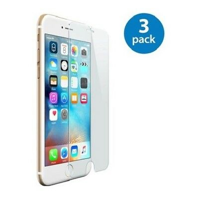 3-Pack iPhone 6 / 7 / 8 Plus Tempered GLASS Screen Protector Bubble Free 3