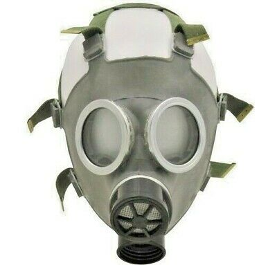 Polish MC-1 Military Gas Mask 40 mm New/Old stock Nuclear Biological Protection 2