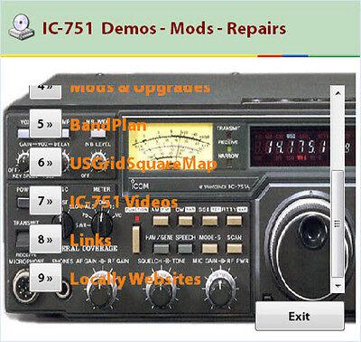 Icom ic-751a service manual service manual download, schematics.