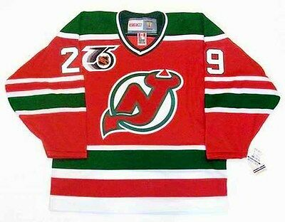 the best attitude 6c906 d0140 MARTIN BRODEUR NEW Jersey Devils 1992 CCM Vintage Throwback NHL Hockey  Jersey