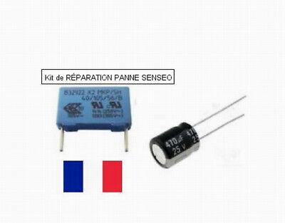 Kit de RÉPARATION PANNE SENSEO condensateur EPCOS MKP 0,47µF 250V/305V 470uf 25v 2