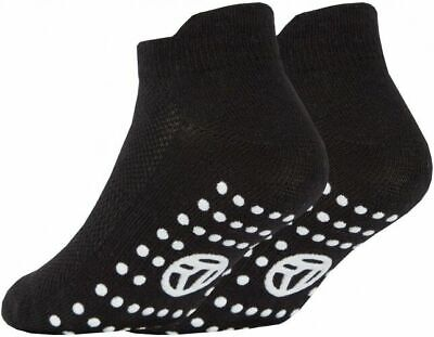 3 Pairs of Kids Boys Girls Grip Gripper Trainer Socks Sports Liners Non Skid 10