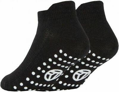 3 Pairs of Kids Boys Girls Grip Gripper Trainer Socks Sports Liners Non Skid 11