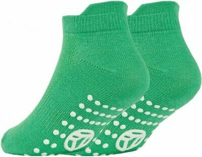 3 Pairs of Kids Boys Girls Grip Gripper Trainer Socks Sports Liners Non Skid 5