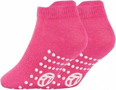 3 Pairs of Kids Boys Girls Grip Gripper Trainer Socks Sports Liners Non Skid 7