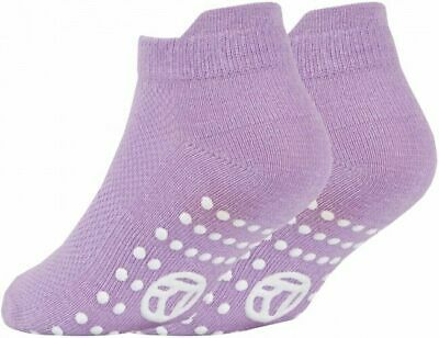 3 Pairs of Kids Boys Girls Grip Gripper Trainer Socks Sports Liners Non Skid 8