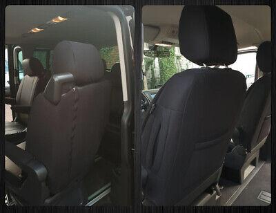 MAß Schonbezüge Autositzbezüge Sitzbezüge VW T5 T6 MULTIVAN 7 Sitzer 115