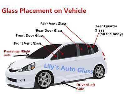 Fits 92-11 Ford Ranger Super Cab;Mazda 2D EXT Passenger Right Rear Quarter Glass