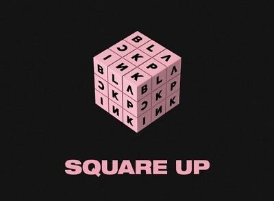 BLACKPINK-[Square Up]1st Mini Album Black CD+Book+Lyrics+Selfie+Card+Gift 5