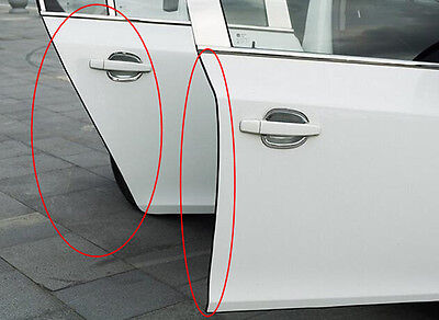 1 Of 10FREE Shipping Car Door Edge Scratch Guard Protector Strip Black  Anti Collision 16.5Ft Buffer