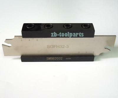 SGFH32-3 SGFH332 Grooving Cut Off Blade Cutter Slotting Tools For GFN3 Inserts