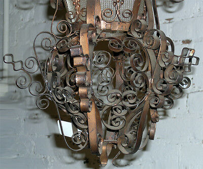 Unusual Elaborate Entry Way Hall Light Fixture